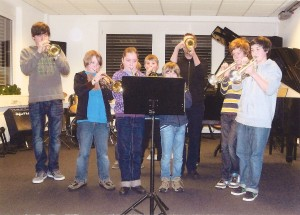 Vorspielabend in der yamaha-Musikschule Henneberger, Dez 2010
